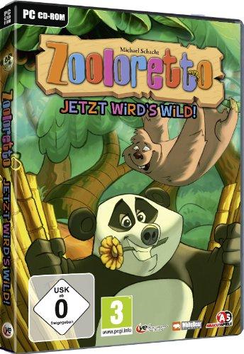 Zooloretto - Jetzt wird's wild! [Importación alemana]