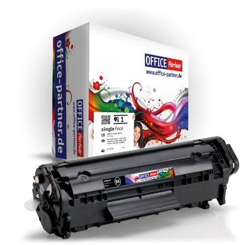 OFFICE-Partner Toner kompatibel zu Canon FX-10 schwarz für Canon i-SENSYS MF4350D MF4330D MF4370DN MF4010 MF4120 MF4140 MF4150 MF4270 MF4320D MF4340D MF4380DN MF4660PL MF4690PL