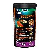 JBL Nourriture poissons rouges et De bassin, Bâtonnets Alimentaires Flottants, Nourriture Spéciale, ProPond Goldfish, Taille: XS, 0,14 kg