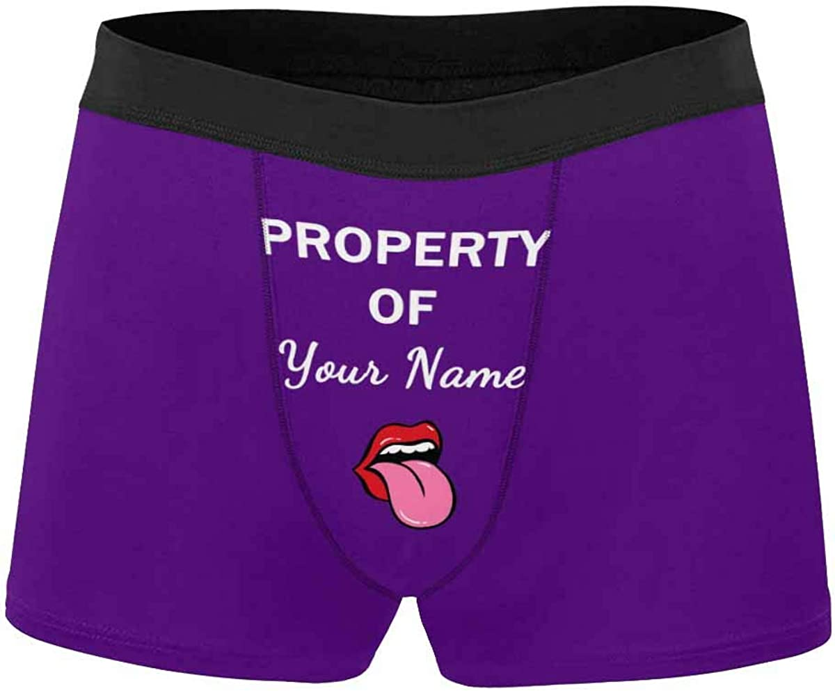 Custom face Boxer Briefs Property Brie Today's only Free Shipping Cheap Bargain Gift Funny Black You of