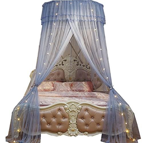 Mosquitera Cama Fácil Cama Colgante Canopy Netting Plegable Mosquitera Matrimonio Bebés Mosquito Cortina para Cama para Cama Individual Cama Matrimonial Hamaca y Cuna,Gray