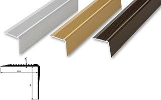 , schwarz ungebohrt-selbstklebend Treppenwinkel 30 x 42 x 1180 mm 6 Farben|selbstklebend|ungebohrt|gebohrt|Kantenprofilwinkel 30 x 42 x 1180 mm 15,71/€//m