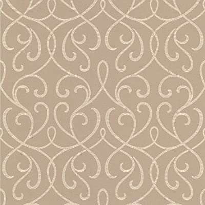 Decorline Modern Swirl Wallpaper