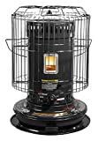 Sengoku KeroHeat CV23K(H) 23,500-BTU Indoor/Outdoor Portable Convection Kerosene Heater, Black
