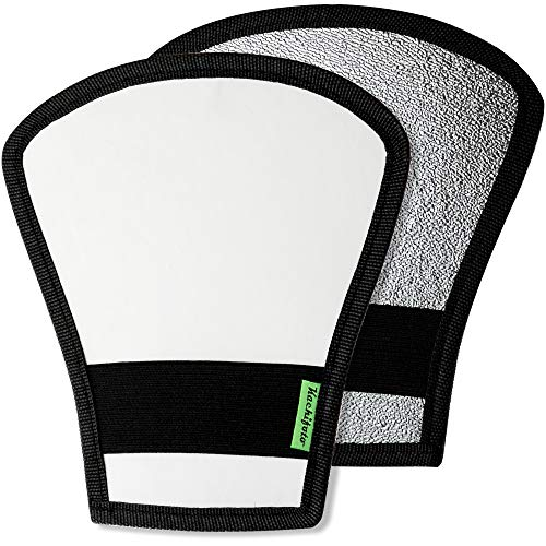2 Pack Flash Diffuser Reflector - 2-Sided...