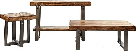 Madison Park Console Table Dayton/Chestnut