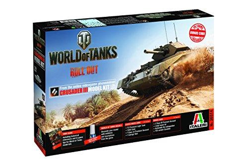 Italeri 36514 World of Tanks Crusader III Model kit carri armati plastica Scala 1:35