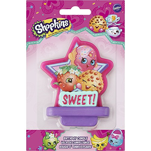 Shopkins Birthday Candle, Assorted