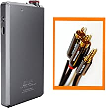 FiiO A5 Portable Headphone Amplifier with Extreme Audio 3.5mm Stereo to RCA Cable