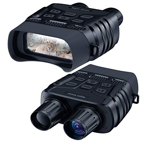 """Night Vision Goggles, 984 FT Digital Infrared Night Vision Binoculars Scope HD Image 960P Video 2.31"""" TFT LCD Screen for Hunting Spy and Surveillance with 32 GB Micro SD Card"""