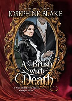 A Brush with Death (The Hands of Fate Book 1) by [Josephine Blake, Covers and Cupcakes]