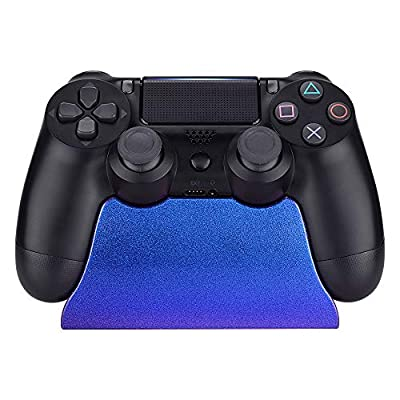 eXtremeRate Controller Display Stand for Playstation 4, Gamepad Accessories Desk Holder for PS4 Slim PS4 Pro Controller with Rubber Pads