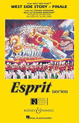 West Side Story: Finale. Blasorchester. Partitur und Stimmen. (Esprit (Marching Band))