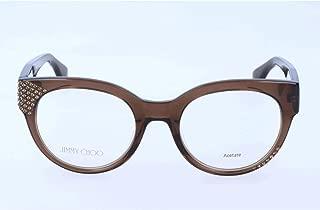 Jimmy Choo - JIMMY CHOO 136, Cat Eye Women Eyeglasses 49/20/140