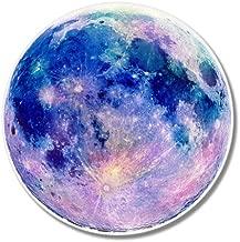 AK Wall Art Full Moon Beautiful Blue Vinyl Sticker - Car Window Bumper Laptop - Select Size