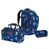 Satch Pack BTS2020 Schulrucksack Set 3tlg. (Rucksack+Etui+Sporttasche) (Waikiki Blue)