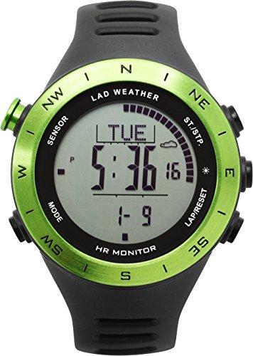 [Lad Weather alemán Sensor pulsómetro cronómetro ABC Reloj formación/Actividades Deportivas