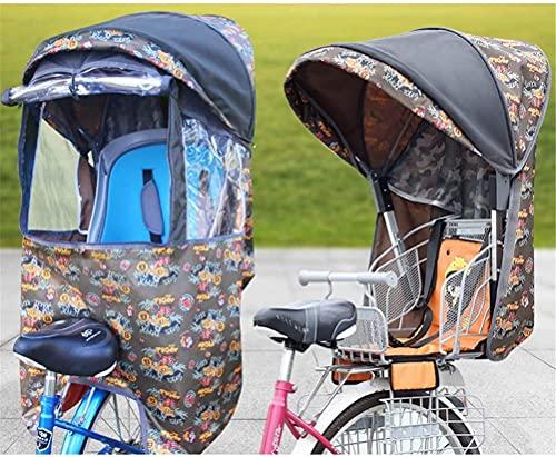X&Y Niño Bike Asiento Accesorio Cubierta de Lluvia Cuatro Seasons Universal (Color : A)