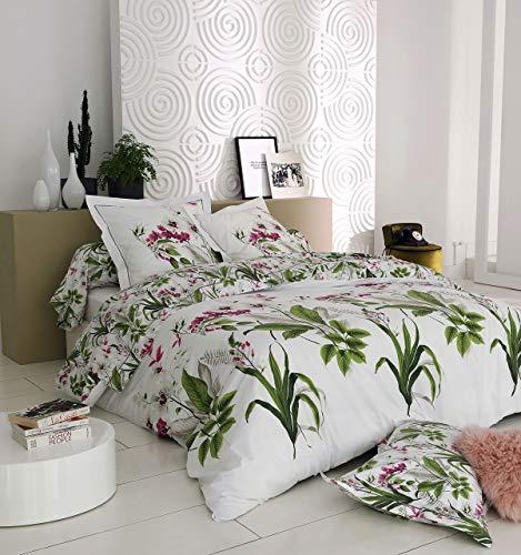 Funda nórdica Elegancia percal estampados florales 260x240 ~ Tradilinge