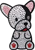 FouFou Dog 92956 Rhinestone Stickers French Bulldog Geschenkidee Aufkleber