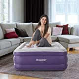 Thomasville Sensation Adjustable Comfort Raised Air Bed Mattress with Express Pump, 15' Twin