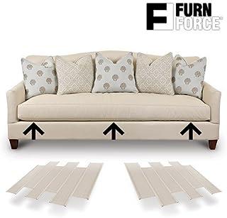 comprar comparacion Hasëndad Furn Force - Paneles para Sofá, Blanco, 48 x 10.5 x 3 cm, 6 Unidades