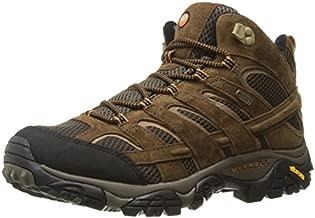 Merrell Men's Moab 2 Mid Waterproof Hiking Boot, Earth, 10 M US