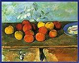 1art1 Paul Cézanne Poster Kunstdruck und Kunststoff-Rahmen