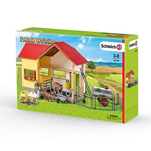 Schleich 42394Farm World Gran Granja con Animales y Accesorios
