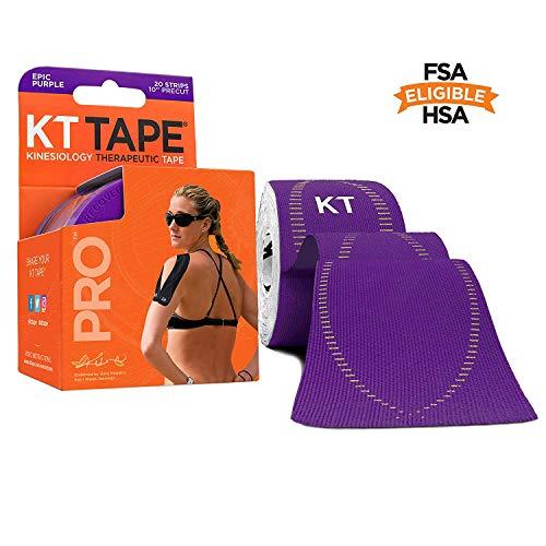 Ares bande non coupé-kinésiologie ruban élastique sport Pro-violet-support KT