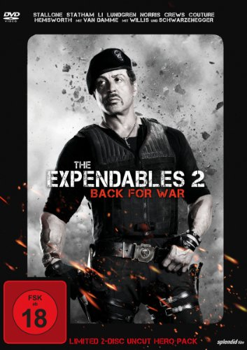 The Expendables 2 - Back for War (Limited Uncut Hero Pack) [2 DVDs]