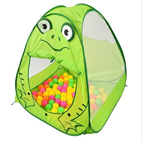 MINMINA Kinder Spielzeugzelt, Kinder Geschenk Tier Modell Kinder Spielzeug Zelt Baby Spielhaus Verstecken Und Finden Spielzeug Kinder Geschenke Grün