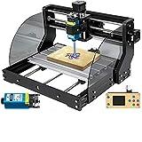 VEVOR CNC 3018 Pro CNC Router 2,5W Láser, 3 Ejes, Control GRBL, Máquina de Grabado Láser 300×180×45 mm, Fresadoras para Madera para Tallado Fresado de Plástico, Acrílico, PVC, Madera
