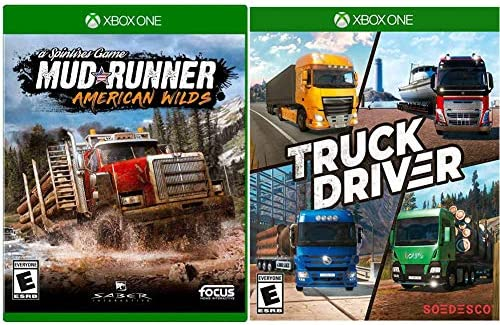 Mudrunner American Wilds Edition Xbox One Truck Driver Xbox One product image