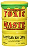 Toxic Waste Hazardously Sour Candy Barre, 1.7 Ounce...