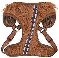 Star Wars Chewbacca Cosplay Dog Harness for Small Dogs, Small (S)   Brown Small Dog Harness is Cute No Pull Dog Harness  ...