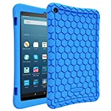 FINTIE Silicone Case for Amazon Fire HD 8 (Compatible with