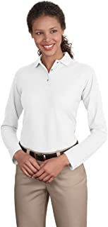 Best long sleeve white polo women's Reviews