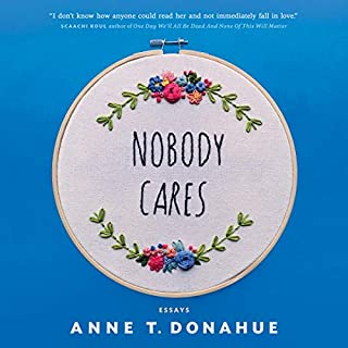 Nobody Cares audiobook cover art