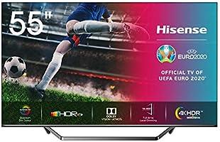 Hisense 55U7QF QLED telewizor 139 cm (55 cali) (4K ULED HDR Smart TV, HDR 10+, Dolby Vision & Atmos, Full Array Local...
