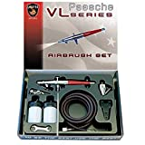 Paasche Airbrush Paasche VL-Set Double Action Siphon Feed Airbrush Set