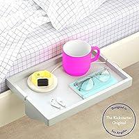 BedShelfie The Original Bedside Shelf - 3 Colors / 2 Sizes - AS SEEN ON Business Insider (Regular Size, Bamboo in Light...