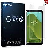RIFFUE Wiko Y70 Protector de Pantalla, Cristal Templado 9H Dureza 3D Touch Glass Premium Screen Protector Film para Wiko Y70 2 Unidades