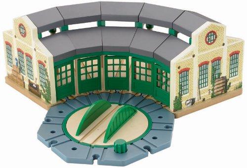 Mattel Y3020 Fisher-Price Thomas y Sus Amigos - Cocheras