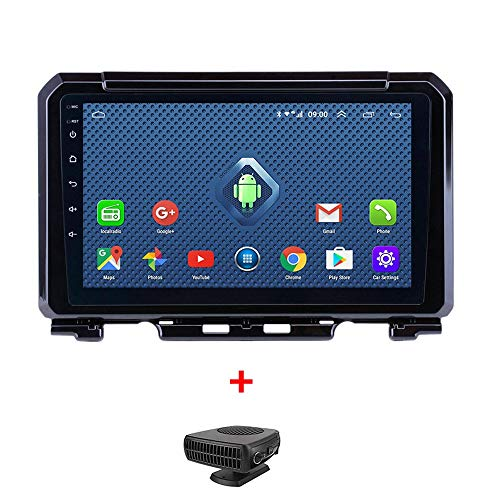 HHttM Seicane 9 Zoll Android 8.1 Autoradio Für Suzuki JIMNY 2019 2Din GPS Navigation Multimedia Player Unterstützung DVR AUX WiFi OBDII SWC, Fahrzeug GPS Navigation Für Auto, Car Systems