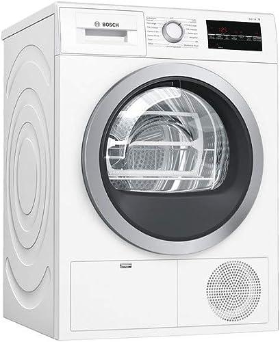 Sèche linge Condensation Bosch WTG85409FF - Condensation électronique - Chargement Frontal - Indicateur temps restant...
