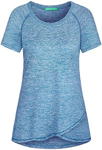 Kimmery Dry Fit Shirts Women Relaxed Fit Athleisure Wear Tops Sweat Wicking Fashion Function product image