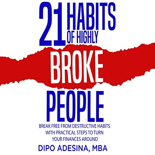 『21 Habits of Highly Broke People』のカバーアート