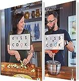 Kiss and Cook: Zwei an einem Herd. Das ultimative Kochbuch für Paare. Rezepte für jeden Tag für das Kochen zu zweit. Ein Kochbuch für Verliebte, ... Zu zweit kochen. Gemeinsam genießen.
