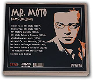 MR. MOTO FILMS COLLECTION- 5 DVD-R - 9 MOVIES - 1937/1965 - Starring Peter Lorre and Henry Silva